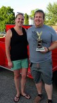 The People's Choice winner of this week's Owatonna Eagle's Car Cruise-In is a 1928 Model A owned by Nick Peake of Owatonna.  Nick's 1928 Model A has been in his family for over 30 years.  And, if you are in love with it, Nick tells us it is for sale!