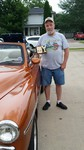 The People's Choice winner of this week's Owatonna Eagle's Car Cruise-In is a 1951 Plymouth Cranebrook owned by Dennis Hofdahl of Owatonna.  Dennis has only had the Cranebrook for 2 months!  It has a 350 Chevy Motor, a Ford rear-end, a Chrysler interior,
